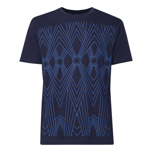 THOKKTHOKK Tapestry T-Shirt skyblue/midnight - THOKKTHOKK