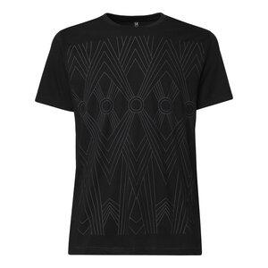 THOKKTHOKK Tapestry T-Shirt black/black - THOKKTHOKK