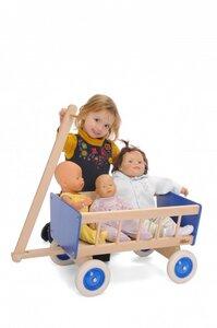 toller Bollerwagen für Kids zum Spielen( ohne Puppe) - Bätz Holzspielwaren