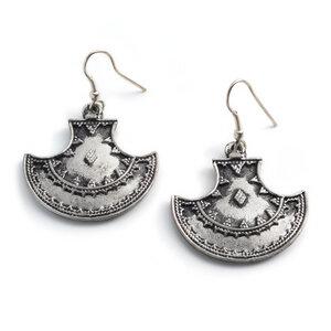'Maratha' Ohrringe - Silber - Kalakosh