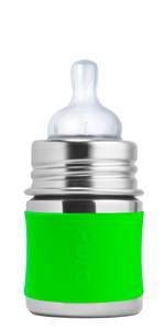 Pura Kiki Babyflasche 125 ml mit Silikon-Sleeve - Pura Kiki