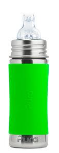 Pura Kiki Trinklernflasche 300 ml mit Silikon-Sleeve  - Pura Kiki