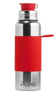 Pura Kiki Sportflasche 800ml mit Sleeve  - Pura Kiki