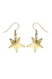 Star Drop Earrings Messing - People Tree
