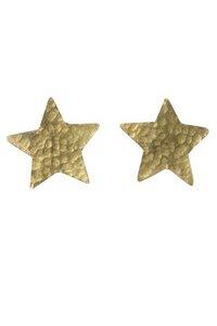Star Stud Earrings in Brass - People Tree