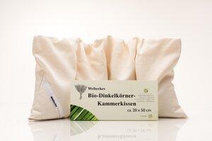 Bio Dinkelkörner Kammerkissen 20x50cm - Weltecke
