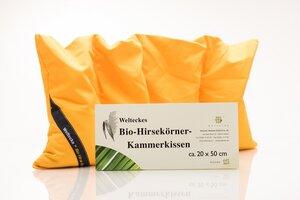 Bio Hirsekörner Kammerkissen - Weltecke