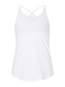 Soft Breeze Top - Weiß  - Mandala