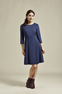Amisha Dress - Navy - Komodo