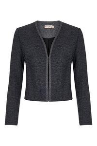 Tabi Jacket Plain - Herringbone - Komodo