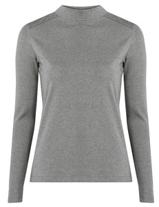 Lilja Top - Grey Marl - Komodo