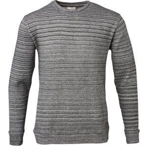 Double Layered Sweat Special Knitted Melange - Dark Grey Melange - KnowledgeCotton Apparel