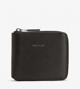 Watson Portemonnaie-Black - Matt & Nat
