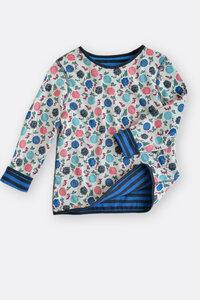 Doubleface Shirt für Mädchen - Maas
