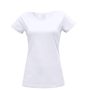Damen T-Shirt in weiß - Fairtrade & GOTS zertifiziert - MELAWEAR