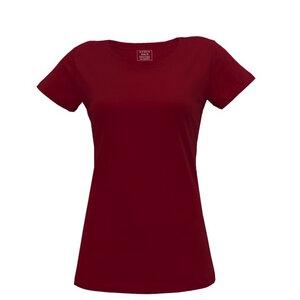 Damen T-Shirt in rot - Fairtrade & GOTS zertifiziert - MELAWEAR