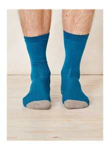 SOLID JACK SOCKS - BLUE - Thought | Braintree