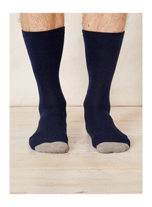 SOLID JACK SOCKS - NAVY - Thought | Braintree