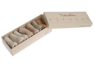 Naturapura 7 Paar Basic-Socken aus Bio Baumwolle (3 - 6 Monate) - NaturaPura