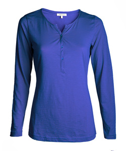 Alma & Lovis Blouse Shirt orient blue - Alma & Lovis