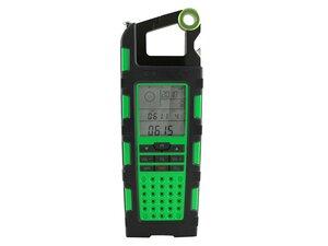 Raptor SP200 grün - Solarladegerät und Outdoor-Multifunktionsgerät - Soulra