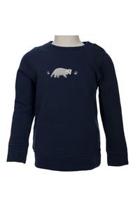 Sweatshirt - dunkles blau - People Wear Organic