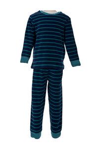 Frotteepyjama - Blau - People Wear Organic