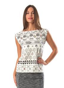 T-shirt Julia-Hellgrau - skunkfunk