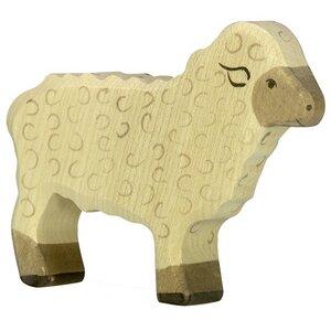 Holztiger Schaf stehend,  - Holztiger