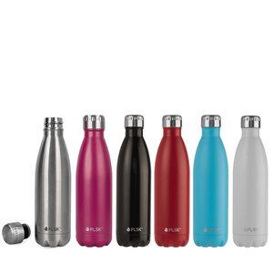 Isolierte Edelstahl Trinkflasche 0,75 Liter - FLSK