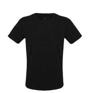 Herren T-Shirt in schwarz - Fairtrade & GOTS zertifiziert - MELAWEAR