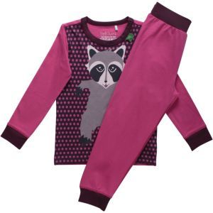 Langarm Pyjama Rescue loungewear set girl - Green Cotton