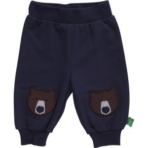 Bear Sweat Pants Navy - Green Cotton