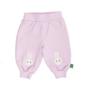 Bunny sweat pants rose - Green Cotton