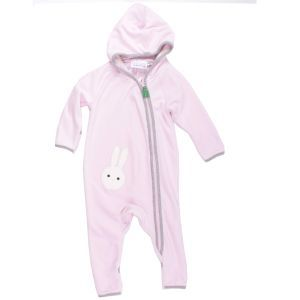Bunny velvet suit rose - Green Cotton