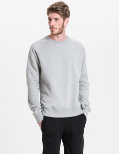 Paolo Sweater/ 0015 Bio-Baumwolle/ Minimal - Re-Bello