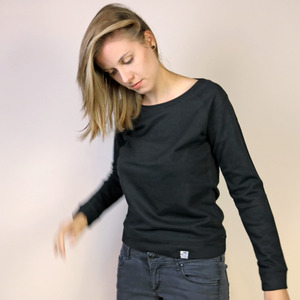 Sweater Basic Schwarz - Gary Mash