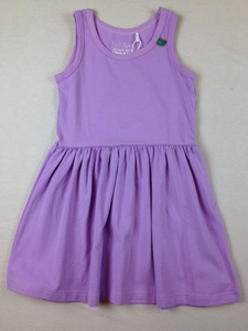 Alfa sleeveless dress violet - Green Cotton