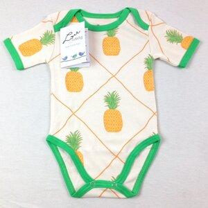 Kurzarmbody Ananas - Lou&dejlig