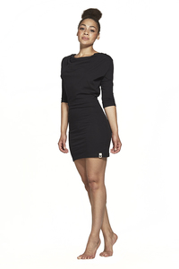 Kleid FRIDA schwarz halfsleeve  - Lovjoi