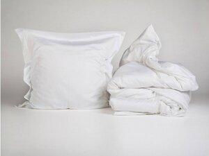 Bettwäscheset Baumwollsatin Pure White - Yumeko