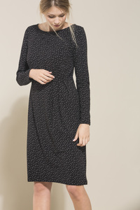 LANIUS- feminines Jerseykleid mit Print - Lanius
