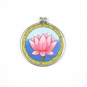 Lotus Anhänger gross - Just Be