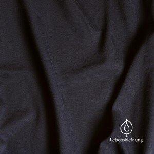 Winter-Sweat-Stoff schwarz - Lebenskleidung