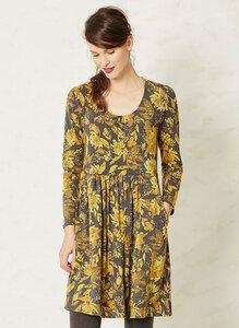 Lipski Dress-Mustard Baret - Braintree