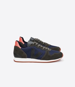 HOLIDAY LOW TOP NAUTICO GRAFITE BLACK - Veja
