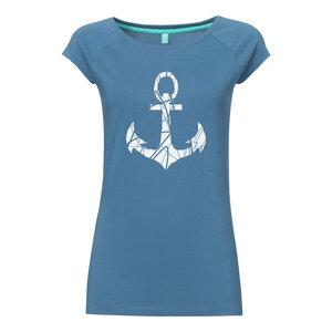 Anker Cap Sleeve Shirt Bio & Fair _denim - ilovemixtapes