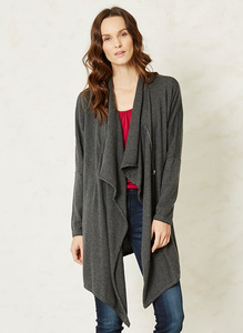 Hip Zip Throw-Charcoal - Thought | Braintree