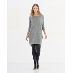 Dyan Sweatdress - Grey Mulin - Miss Green