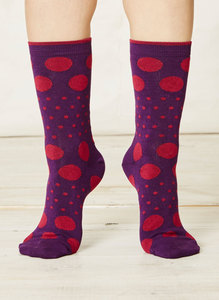 Paolini Socks-Plum - Thought | Braintree